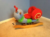 Snail rocking chair