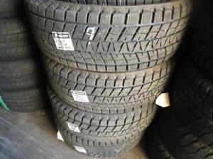 255/60R19- 4 MATCHING USED BRIDGESTONE SNOW TIRES