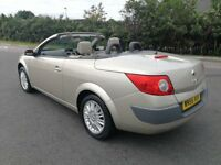 2007 {56 REG} RENAULT MEGANE CONVERTIBLE AUTOMATIC IN TOP CONDITION. MOT APRIL 2019. SERVICE HISTORY