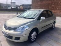 2009 / NISSAN TIDA / AUTOMATIC / ELECTRIC WINDOWS / CD / LOW MILES / FULL MOT .