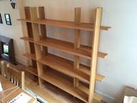 Limited edition design IKEA bookshelves. Good condition.