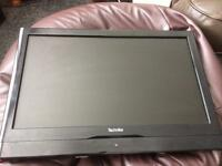 Technika 19 inch LCD tv with wall fitting. £20