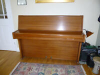 Piano for sale - Barratt and Robinson upright. Excellent condition