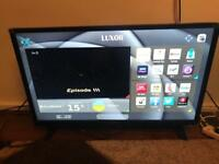 Luxor 32 Inch HD Ready, Freeview HD, LED, Smart TV (