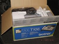 Brother Fax Machine. T106