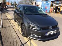 2014 VW POLO GREY 1.2 MATCH EDITION PETROL 1 YEAR MOT CAT C LOW MILEAGE 9451