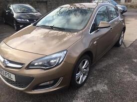 2013 Vauxhall astra 1.4 sri 5 door .(26000 MILES)