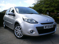 RENAULT CLIO TOMTOM EDITION 1.1 PETROL *12 MONTHS MOT * Full service history * 6 Months WARRANTY