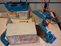 Black and Decker. Vintage D720 drill and attachments