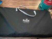 Royal camping table/storage unit