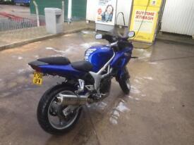 Suzuki sv Sport 650cc