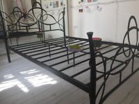 Used Metal Double Bed