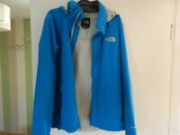 EXCEL CONDITION NORTH FACE HOODED JACKET/COAT SIZE S/P 10yrs UP