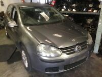 Mk5 VW Golf parts for sale including GVV code gearbox and LA 7T colour code doors bumpers tailgate