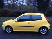 FIAT PUNTO HGT ABARTH 2002 STUNNING CLEAN CAR-VERY RARE -MOT NOVEMBER 2017-WE CAN DELIVER TO YOU