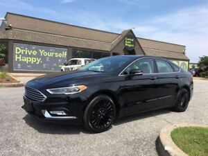 2017 Ford Fusion SE/CARPROOF CLEAN/NAV/LEATHER/SUNROOF