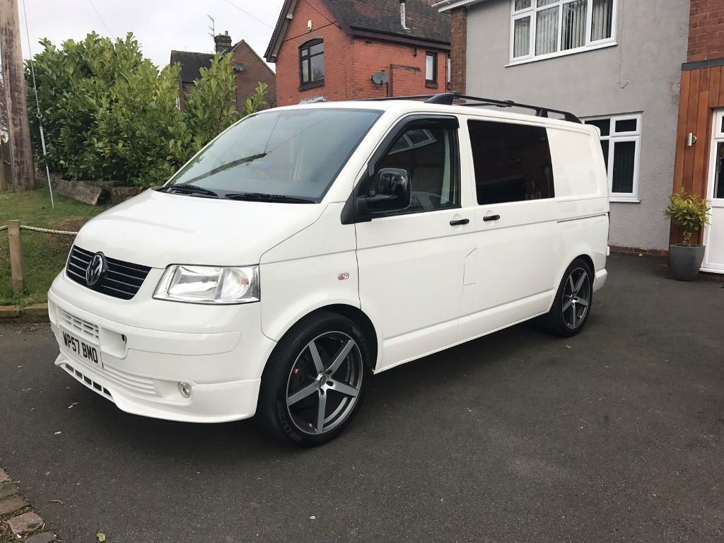 vw t5 transporter day van kombi 55k miles mint con camper in stoke on trent staffordshire. Black Bedroom Furniture Sets. Home Design Ideas