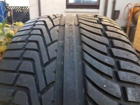 Pair of 315/35/20 Accelera Iota tyres. Like new, only 300 miles BMW X5, ML, Benz