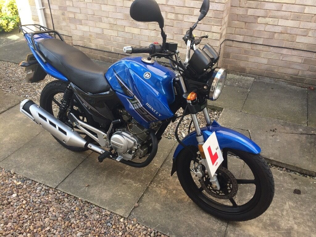 Great Honley 125 Ideal Learner Bike In Good Condition And With