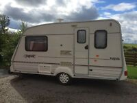 Two berth caravan. Ready to hook up and go