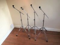 TWO Boom Cymbal Stands
