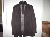 Gents coat. M&S, size L (41 - 43), only worn half a dozen times.