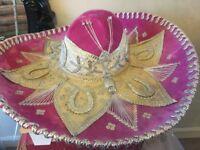 Pink Mexican sombrero