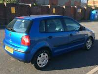 VW POLO 1.4 S SPARES OR REPAIRS NO MOT!!