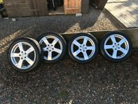"17"" Alloy wheels and winter tyres to fit Audi A3 (2015)"