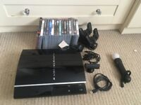 PS3 console and 16 Games