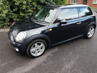Gleaming Black.2007 Mini Cooper.Outstanding Wee Car.polo.fiesta.yaris.ds.c2.c3.107.207.fiat 500.st.
