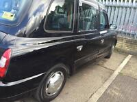 Tx4 taxi London plated
