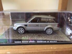 1:43 Range Rover Sport - JAMES BOND COLLECTION - Quantum of Solace - FABBRI