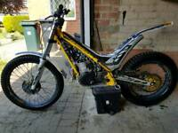 2013 sherco st300 trials bike + trailer