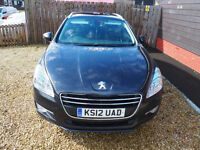 Peugeot 508 sw diesel estate 2 owners from new
