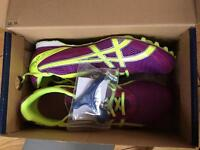 Brand new asisc running trainers size 9