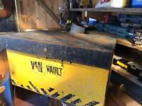 Van vault tool box safe