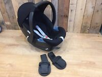 Mamas and papas car seat with adapters