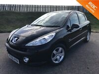 2009 PEUGEOT 207 VERVE 1.4 8V - 46K MILES - F.S.H - EXCELLENT SPEC - GREAT VALUE - 6 MONTHS WARRANTY