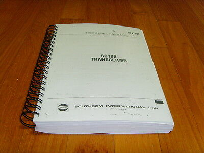 Southcom International SC-106 HF transceiver Service & Instruction Manual