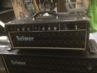 Selmer valve amplifiers &cabinets for sale