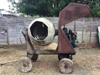 Old and much loved Winget Concrete Mixer