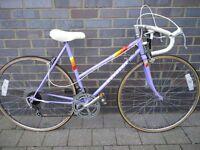 Vintage ladies Peugeot Premiere Road bike,10speed,Lightweight 50cm frame,700c wheels,Totaly original