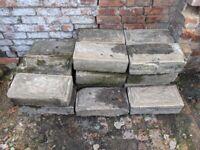 FREE large stone/concrete blocks