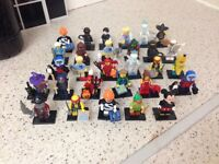 Lego minifigurs series 14 15 16 and Disney