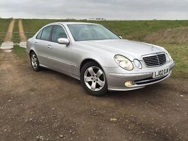 Mercedes E240. VERY LOW MILEAGE. FSH