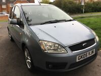 FORD FOCUS C MAX 1.8 ZETEC, 83000 MILES FULL SERVICE HISTORY, 29TH JULY MOT, EXCELLENT CONDITION