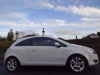 SPRING/SUMMER SALE!! (2010) VAUXHALL Corsa 1.2 SXi 3dr WHITE