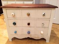 Shabby chic drawers/coffee table