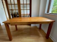 Lincoln Dining Table and 6 Chairs - Oak Effect, in excellent, as new condition, rarely used